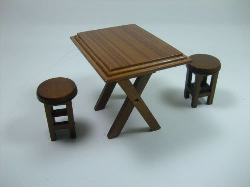 Flatware, Furniture & Kitchenware | Wood Table Set
