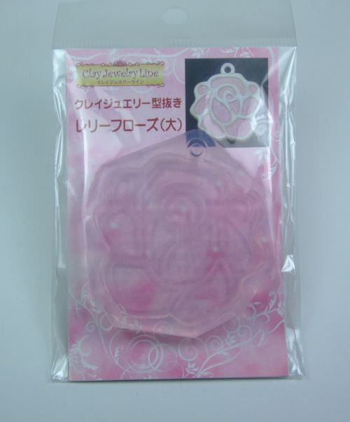 Mould & Accessories | Silicon Mould - Relief Rose (L)